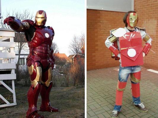 Cómo hacer un buen disfraz de Iron Man y tambien cómo NO hacerlo ...